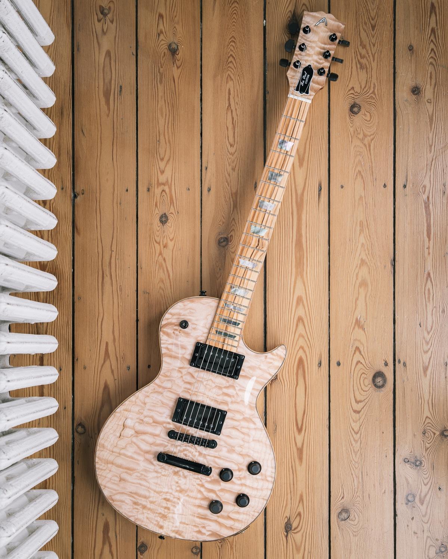 Guitare électrique - Gibson Les Paul - Luthier - Vue d'ensemble