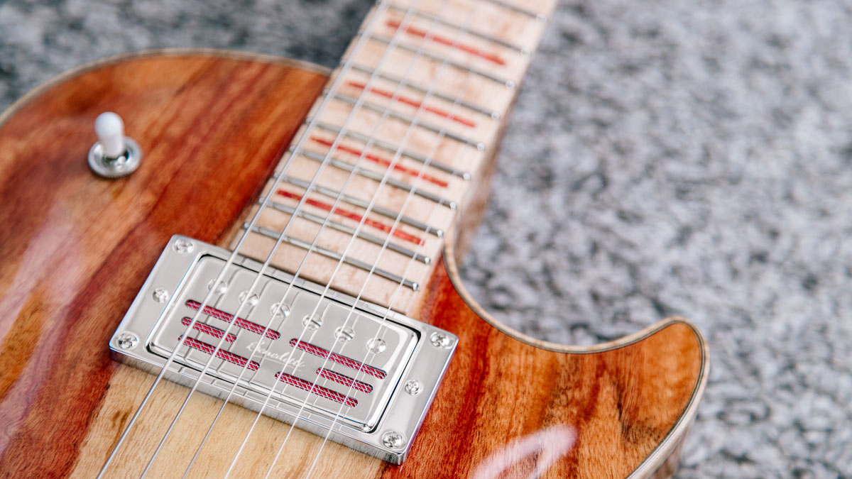 Guitare électrique - Gibson Les Paul - Luthier - Humbucker Benedetti