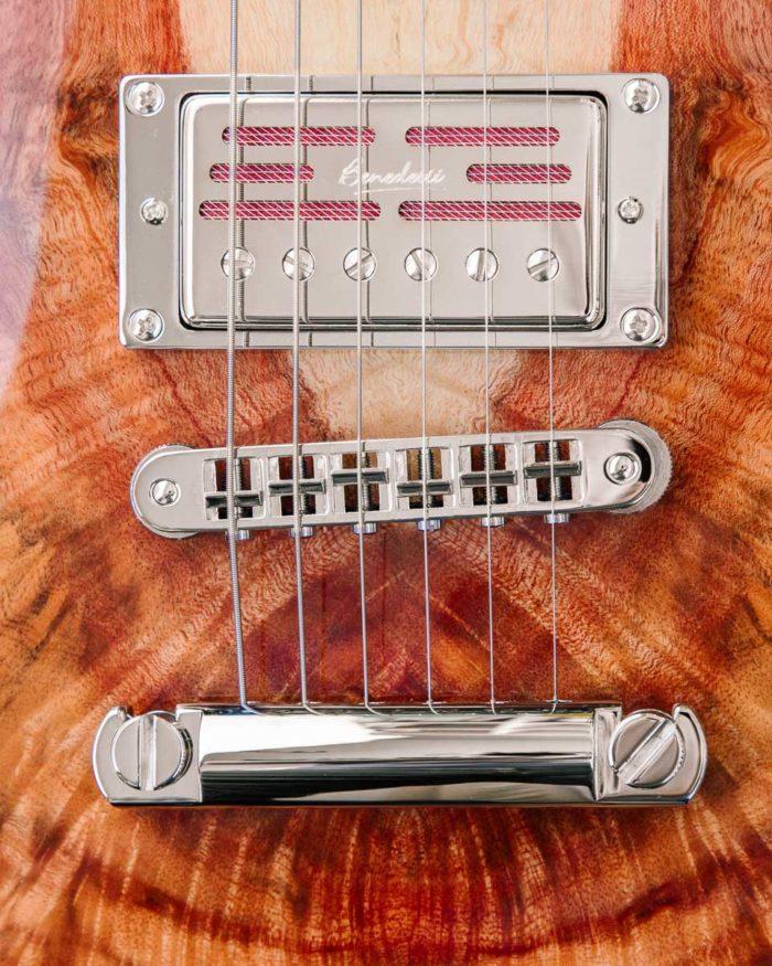 Guitare électrique - Gibson Les Paul - Luthier - Micros Benedetti et Tune-O-Matic
