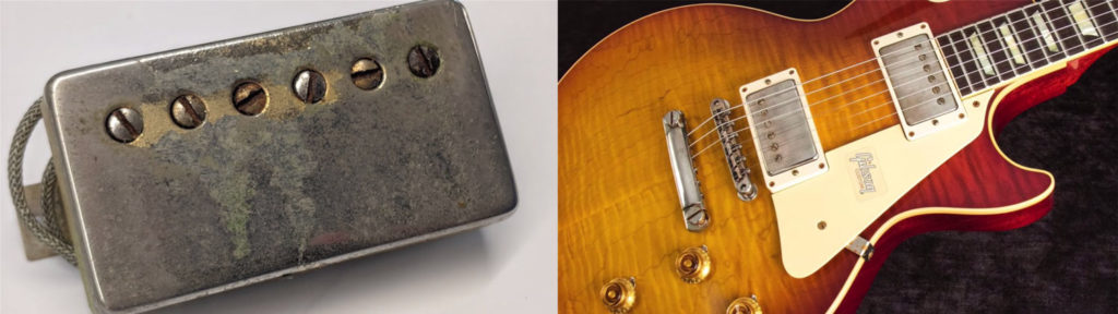 Humbucker and position on a Les Paul Standard