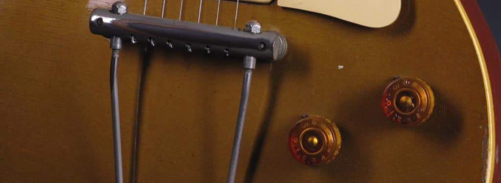 Original Les Paul Gold top with reversed tailpiece