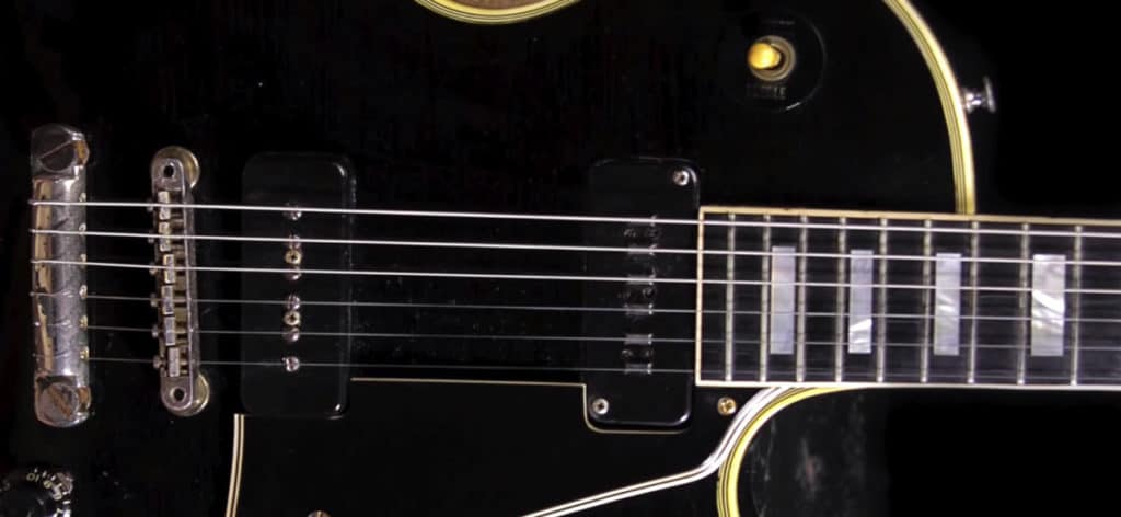 Alnico custom pickup from LEs Paul Custom