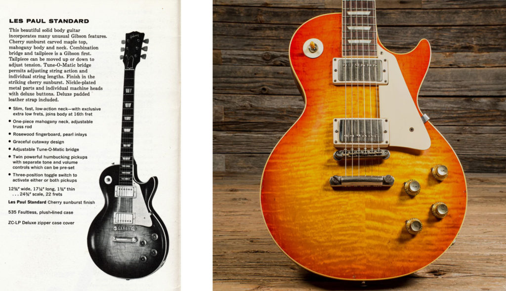 Les PAul Stnadard Sunburst 1960