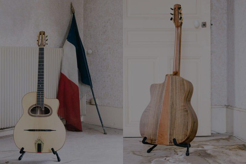 guitare jazz manouche - luthier
