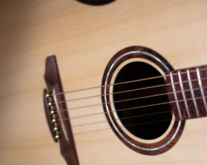 Guitare acoustique - Guitare folk - Table en épicéa