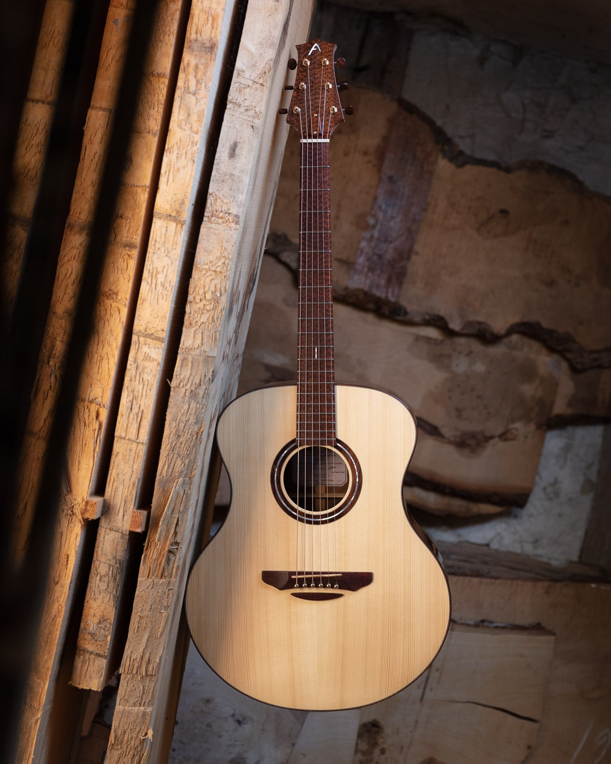 Guitare acoustique - Guitare folk - Table en épicéa