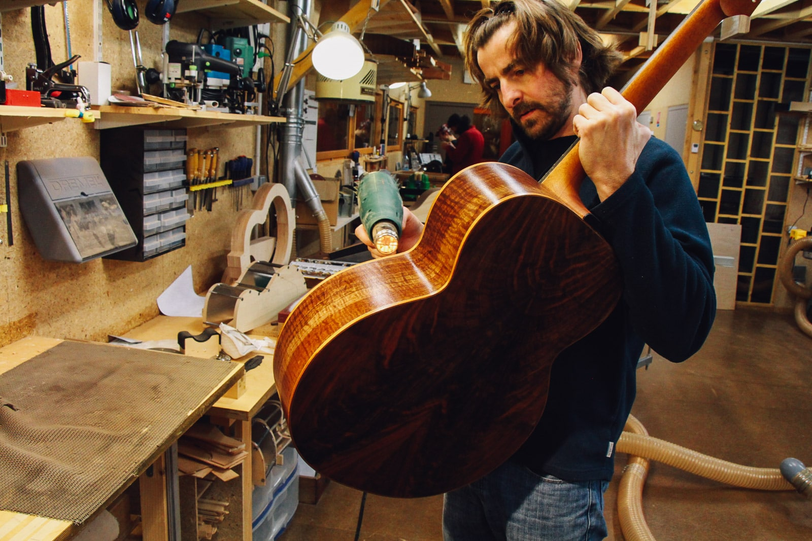 Richard Baudry - formation luthier