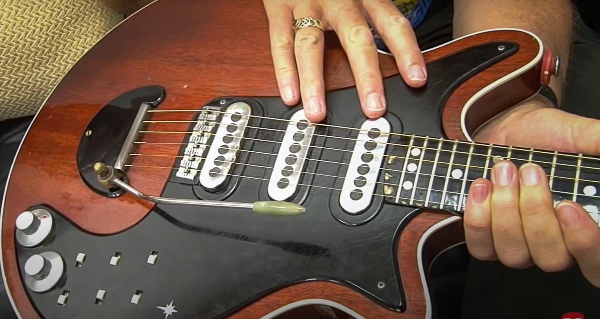 Réglage micro sur Bohemian Rhapsody du guitariste de Queen