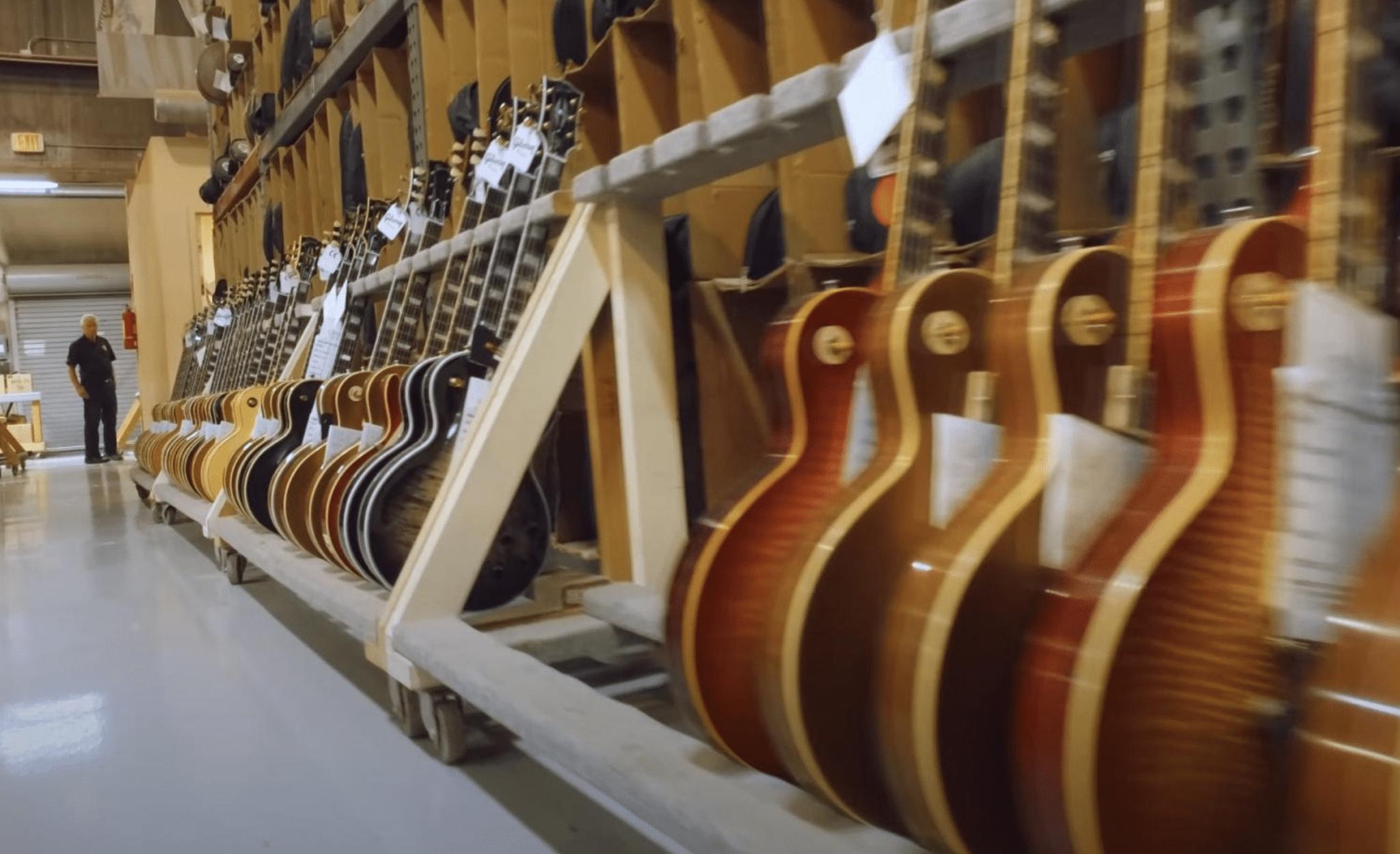 Gibson tout factory